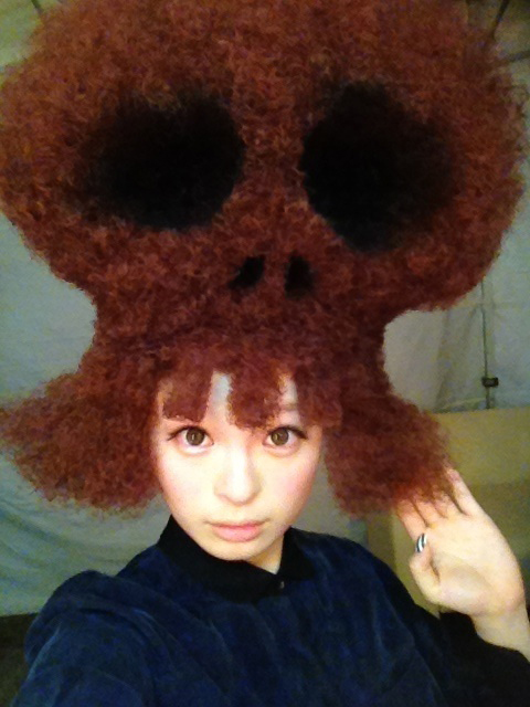 Pamyu Pamyu's Halloween wig | RandomJpop.blogspot.co.uk