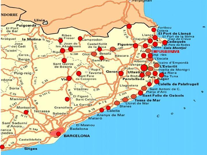 ESPAGNE - COSTA BRAVA - COSTA BLANCA - ANDALOUSIA - ETC.: CATALOGNE - COSTA BRAVA / BLANCA : PAR ...