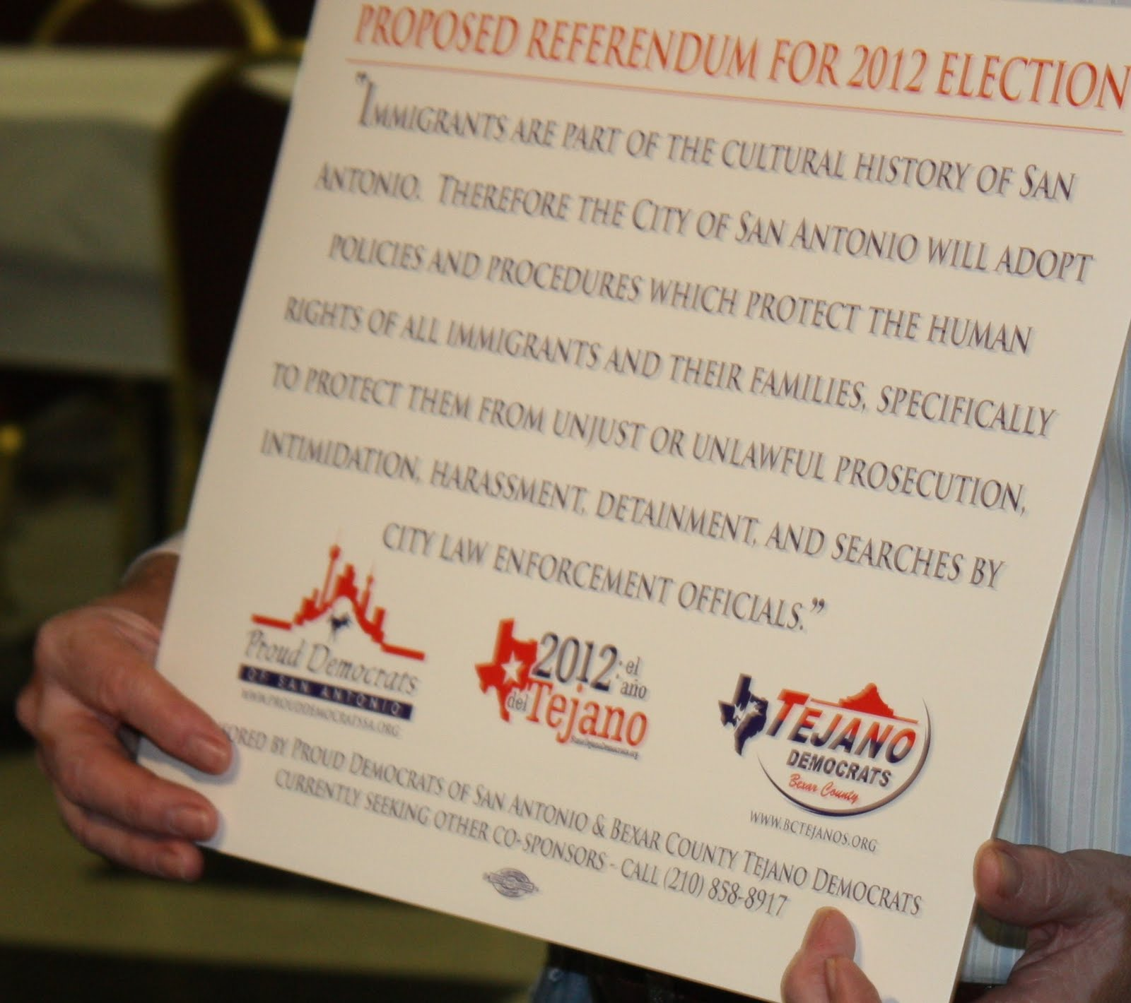 Fourth image of Shedding Light On Bexar County November 2012 with Walker Report - Shedding Light on Bexar County: Tejano ...