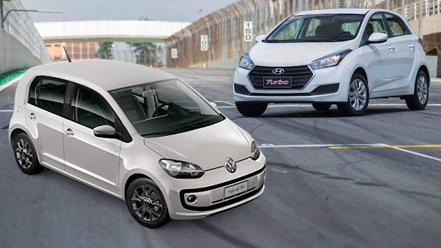 Hyundai HB20 Turbo x Volkswagen Up! TSI - Fullpower Lap