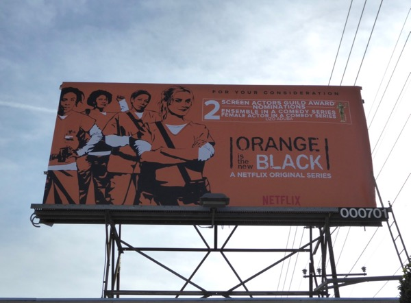 Orange New Black season 5 SAG noms billboard