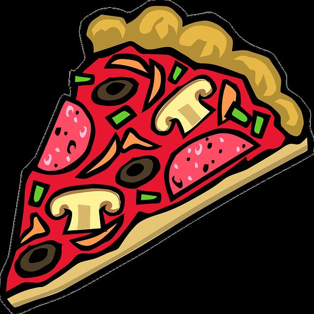 Free Clip Art Immagini Disegni Clip Art Fetta Di Pizza