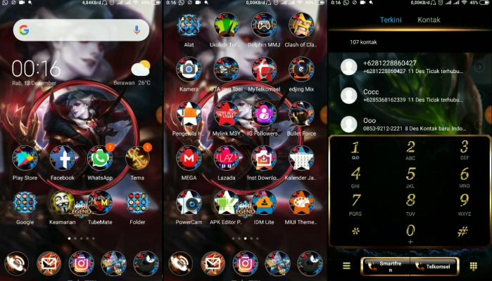 Image result for tema mobile legend