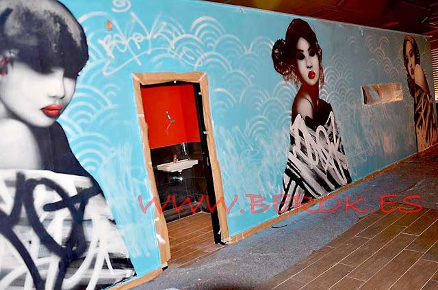 murales interiores Barcelona