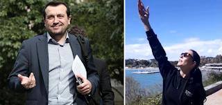 Η Εύη Βατίδου αποθεώνει τον Νίκο Παππά: Η Ελλάδα στέλνει... αεροσκάφος στο διάστημα!