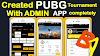 PUBG Tournament App Aia With Admin App aia.