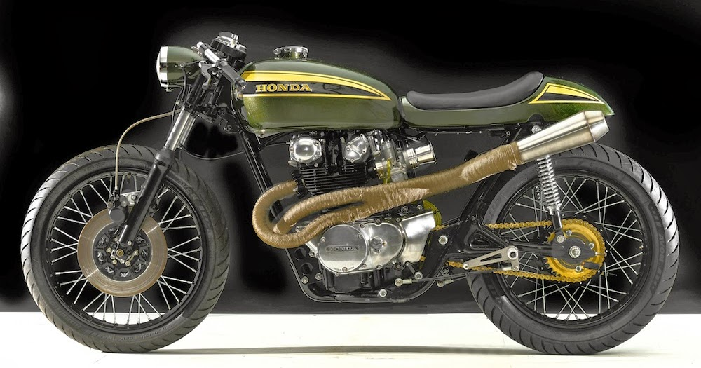 For Motorcycle Fans Honda Cb450 Cafe Racer