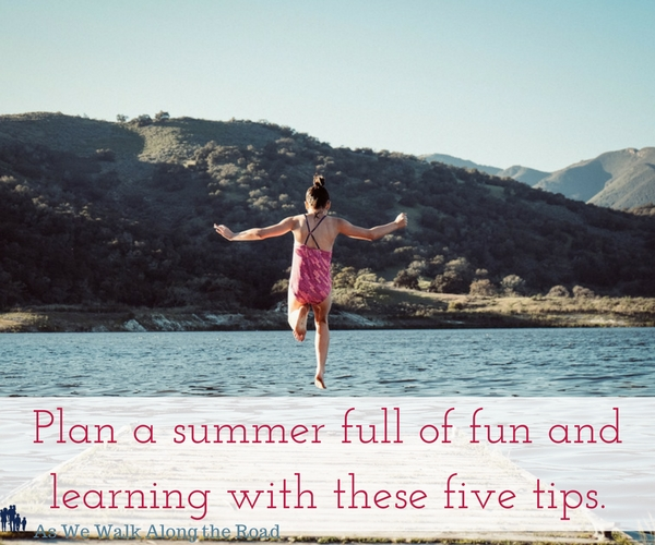 Fun and educational ideas for your homeschool this summer