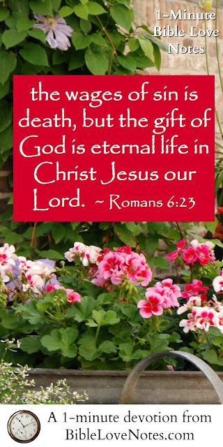 Romans 6:23, Grace, Unfair lives, fair eternity