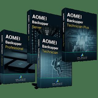 AOMEI Backupper All Edition Full version