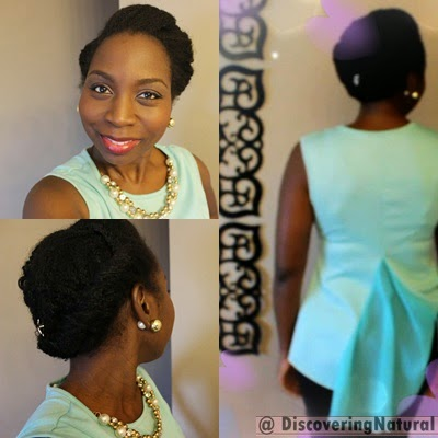 Valentine's Day Natural Hair Hairstyle