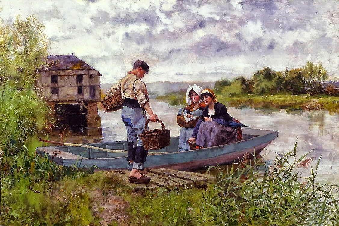 Henry Herbert La Thangue - Genre painter [1859-1929]