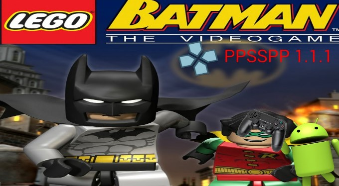 Game LEGO Batman The Videogame PSP Iso Free Download