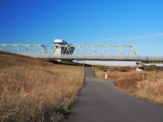 荒川 武蔵野線 さくらそう水門