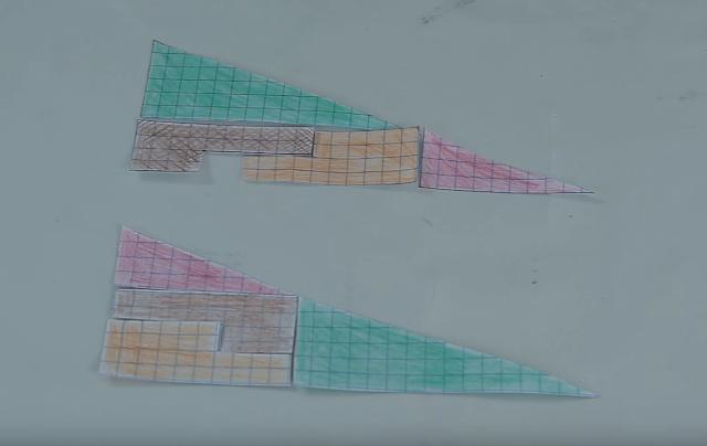 triangulos, iguales, diferentes