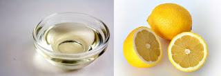 coconut oil and lemonjuice to get rid of dandruff