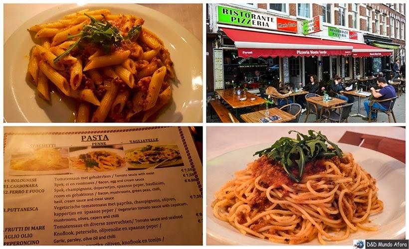 Restaurante Monte Verde - Diário de Bordo - 2 dias em Amsterdam