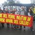 COLECTIVO PULGATAG EN CHILE APOYA EL CIERRE DEL PENAL MILITAR DE LA BASE NAVAL DEL CALLAO.