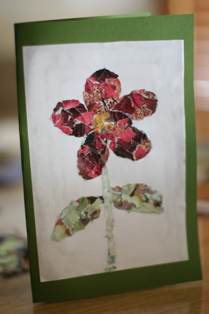 Allergy Wise Torn Paper Mosaic Cards