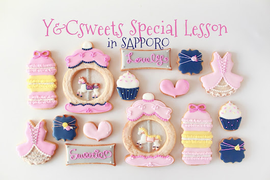 Y&Csweets Special Lesson in SAPPORO!