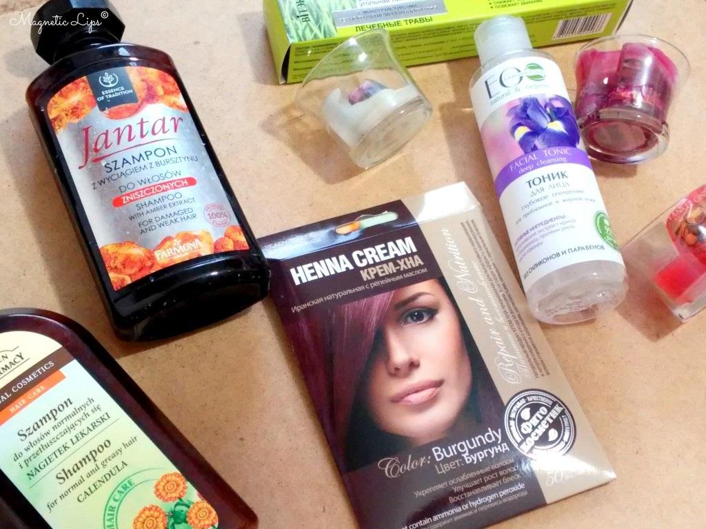 zużycia kosmetyczne styczeń
