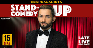 "Stand up comedy con Óscar Barragán ""Barraganista"""