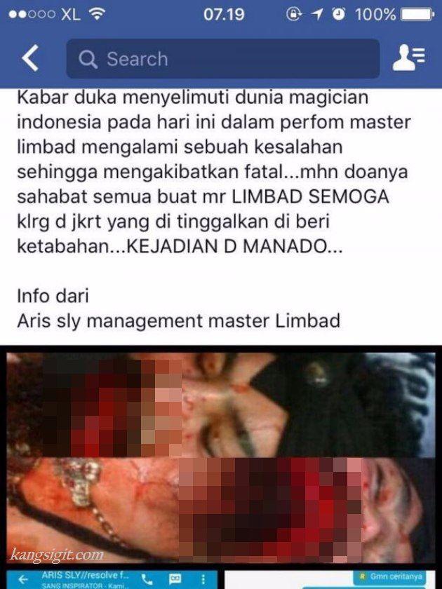 foto limbad berdarah