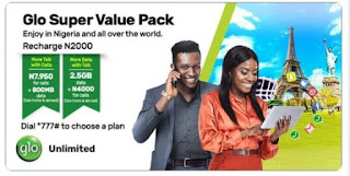 Glo Super Value Pack: How To Activate Bonuses And Validity Periods