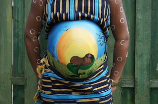 belly painting precioso sexyandmum