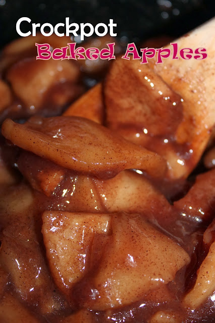 Crockpot Baked Apples Recipe