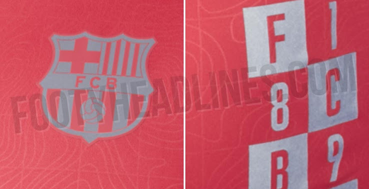 outlet store 55e53 04fba Barcelona 18-19 Champions League Pre-Match Shirt Leaked ...
