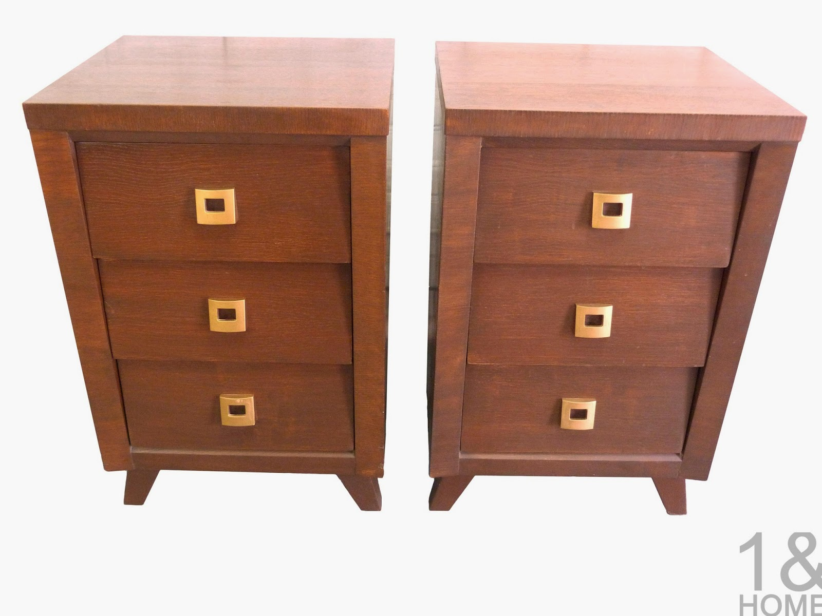Mid-Century Architectural Modern by Morris Night Stands