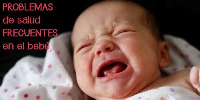 7 problemas de salud frecuentes en el recién nacido
