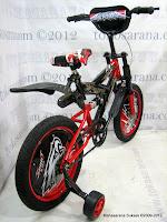 3 Sepeda Anak Forland 1201 Full Suspension 12 Inci