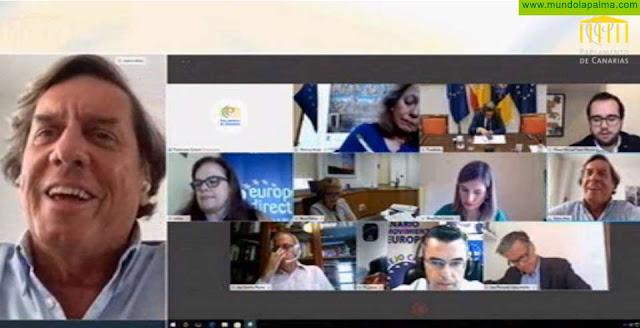 Gabriel Mato reivindica el papel solidario de la UE y valora su actuación con las RUP ante la COVID-19
