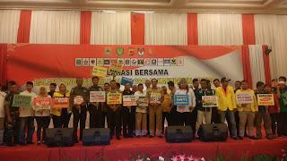 Polres Cirebon Ajak Parpol Dan Caleg Deklarasi Damai Pemilu 2019