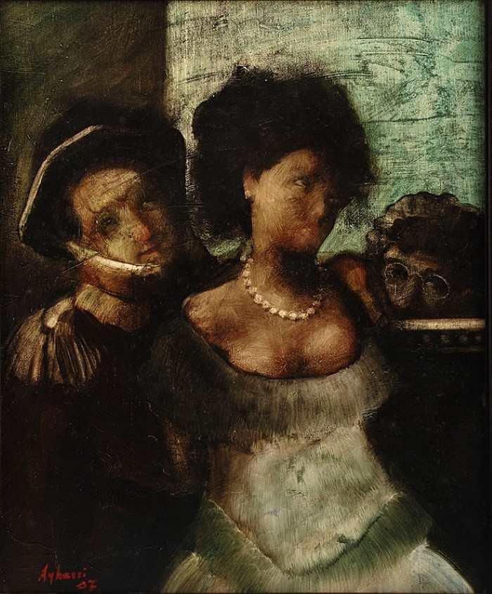 Современный Рембрандт. Aghassi (Boghos Taslakian)