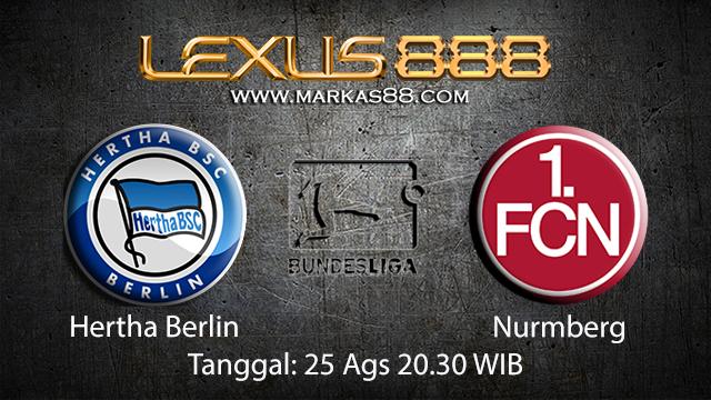 BOLA88 - PREDIKSI BOLA HERTHA BERLIN VS NURNBERG 25 AGUSTUS 2018 ( GERMAN BUNDESLIGA )