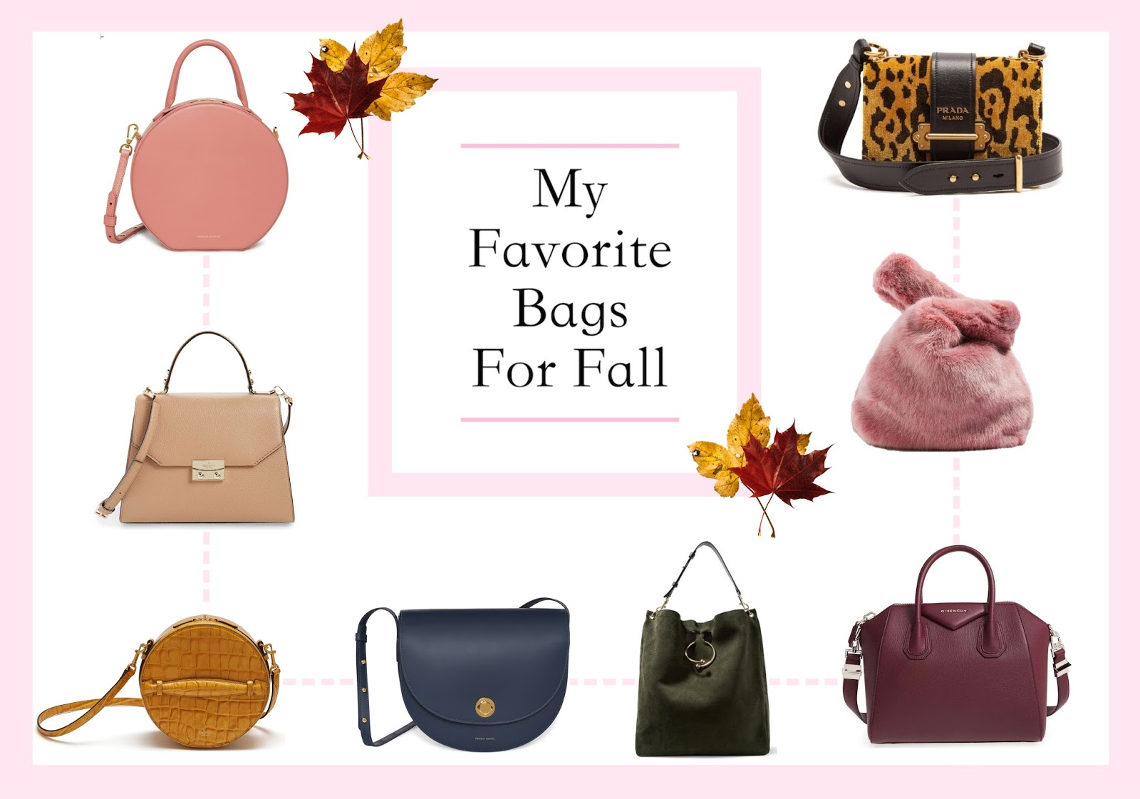 056b7ebfa8b784 My Favorite Bags For Fall 2017. Fall officially starts on Friday! I'm so  happy for the leaves to change and the weather to get cooler.