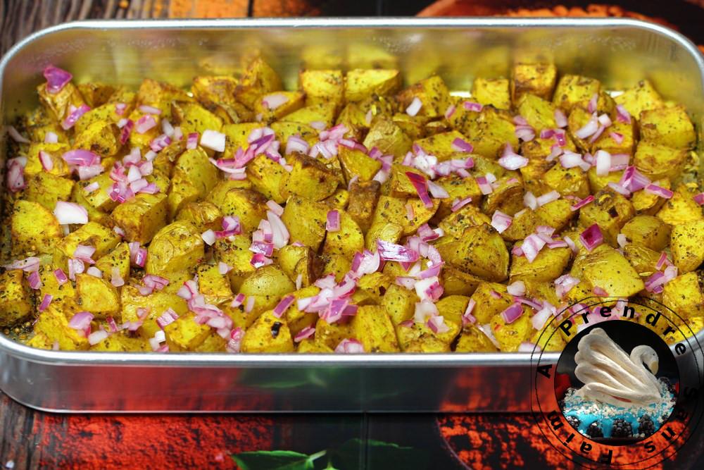 Pommes de terre au four à l'indienne