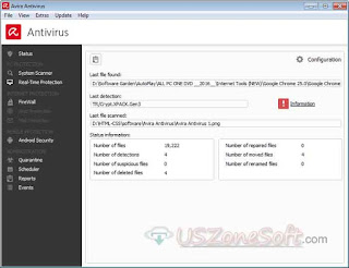 Avira Antivirus- Realtime protection