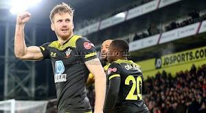 ساوثهامتون يحقق الانتصارت خارج ملعبه على فريق كريستال بالاس بثنائية في الدوري الانجليزي