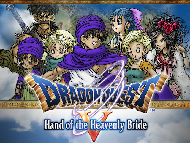 Dragon Quest V: Hand of the Heavenly Bride cover 1