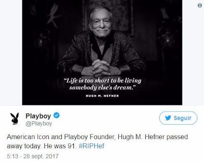Twitter de Playboy