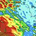 Altos volumes de chuva entre hoje e amanhã