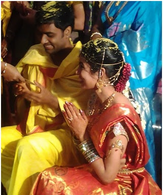 Hemachandra and Sravana Bhargavi  wedding photo000020