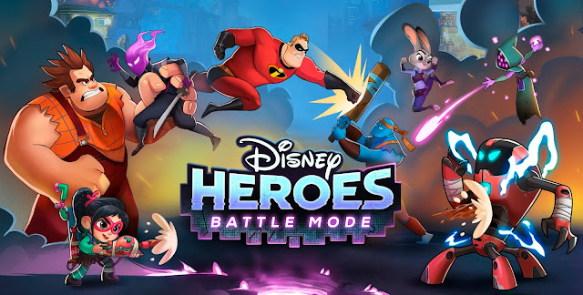 Disney Heroes Battle Mode Game Teaser
