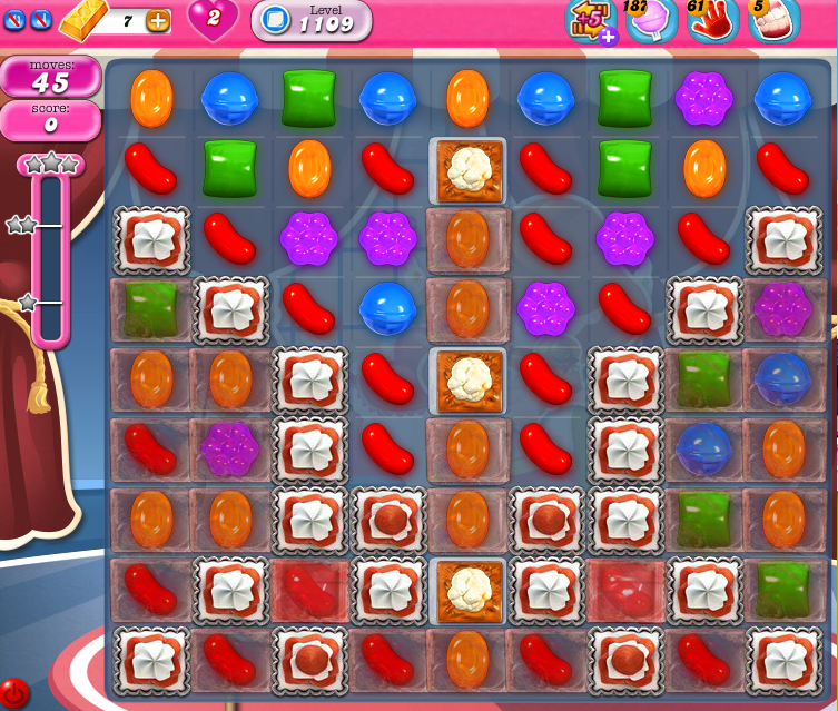 Candy Crush Saga 1109