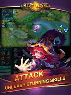 Download Heroes Arena APK Mod Full Ulocked Terbaru