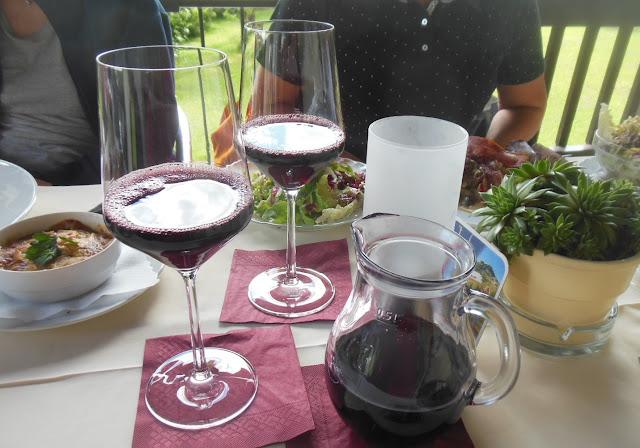 Gasthof zur Waldbahn, Zwiesel, red wine